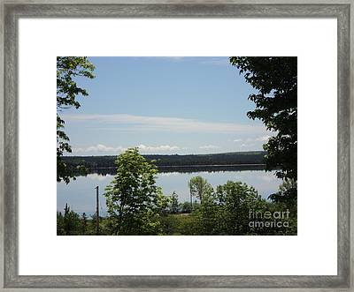 Summer Day In Cape Breton Framed Print