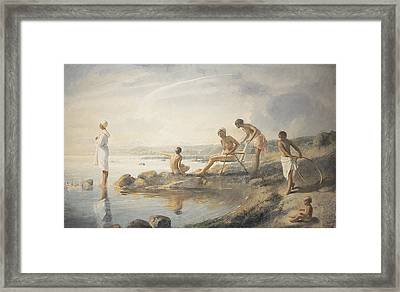 Summer Day Framed Print by Odd Nerdrum