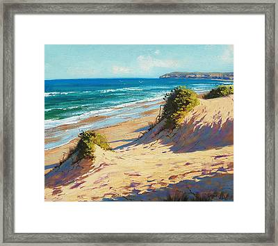 Summer Day The Entrance Framed Print