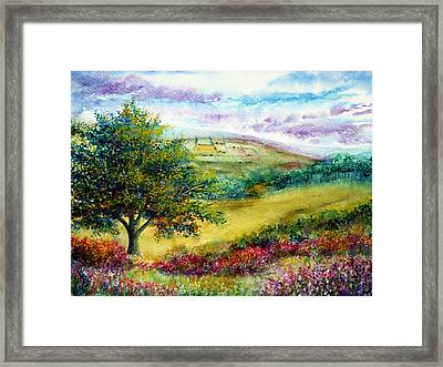 Summer Days Framed Print by Ann Marie Bone
