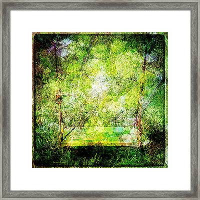 Framed Print featuring the mixed media Summer Days Of Yore #1 by Sandy MacGowan
