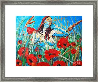 Summer Dream 1 Framed Print by Ana Maria Edulescu