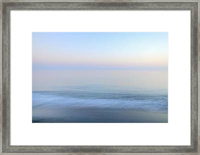 Summer Dreams Vintage Sea Series. Framed Print