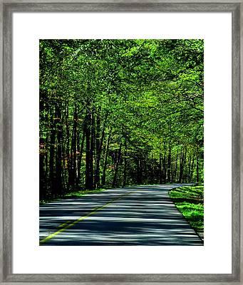 Summer Drive Framed Print