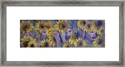 Summer Fantasy Framed Print by Dorina  Costras
