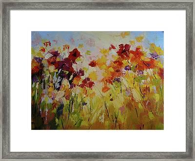 Summer Field Framed Print by Yvonne Ankerman