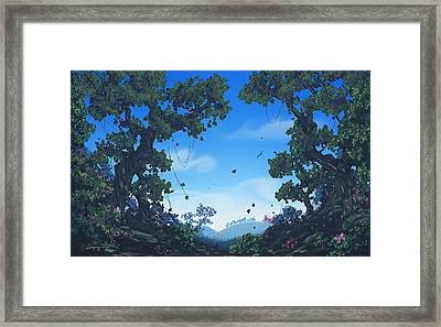 Summer Fields Framed Print by Cassiopeia Art