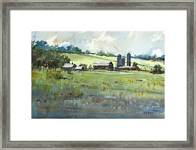 Summer Fields Framed Print