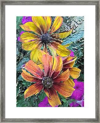 Summer Flowers One Framed Print