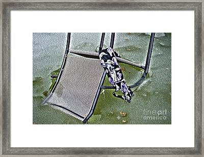 Summer Forgotten Framed Print