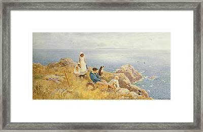 Summer Frolic Framed Print by Thomas James Lloyd