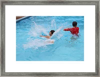 Summer Fun Framed Print by Carolyn Ricks