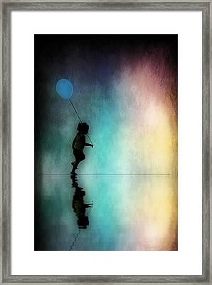 Summer Fun Framed Print by Dave Hrusecky