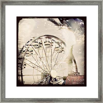 Framed Print featuring the photograph Summer Fun by Trish Mistric