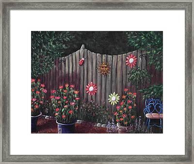 Summer Garden Framed Print by Anastasiya Malakhova