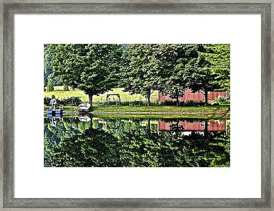 Summer Getaway Framed Print by Frozen in Time Fine Art Photography