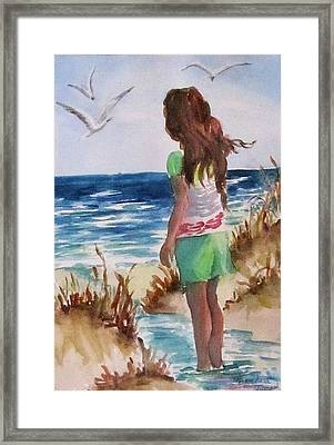 Summer Gifts Framed Print by Barbara Jung