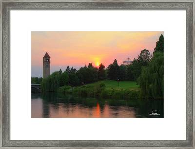 Summer Green Framed Print by Dan Quam