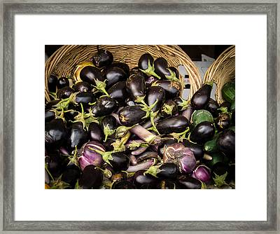 Framed Print featuring the photograph Summer Harvest by Wayne Meyer