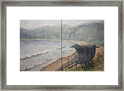 Summer Haze Framed Print by C Michael French