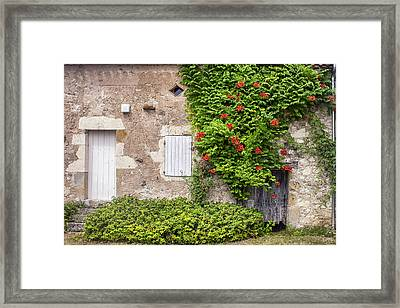 Summer Home Framed Print