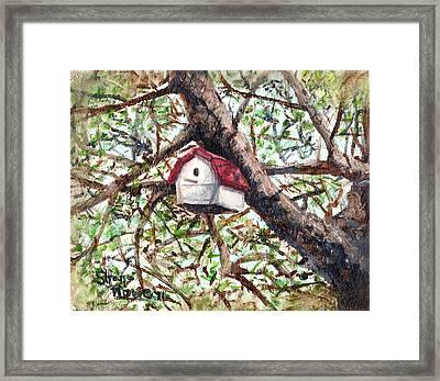 Summer Home Framed Print by Shana Rowe Jackson