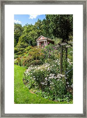 Summer House Framed Print by Adrian Evans