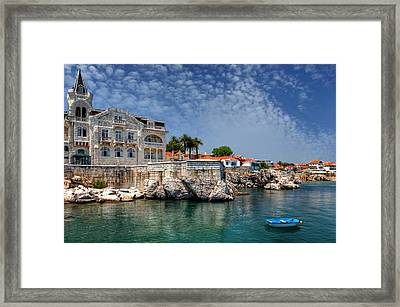 Summer In Cascais Framed Print