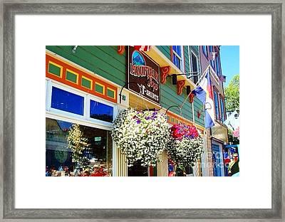 Summer In Crested Butte Framed Print by Trisha Buchanan