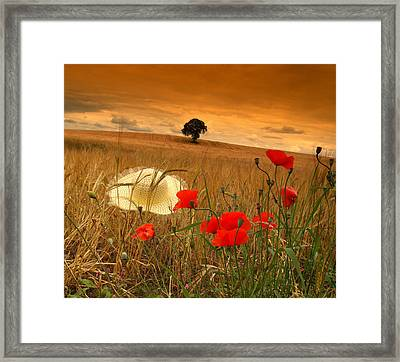 Summer In Ireland. Framed Print by Edward Dullard