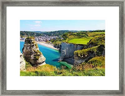 Summer In Normandy Framed Print