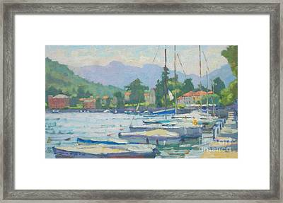 Summer In The Afternoon Framed Print by Jerry Fresia