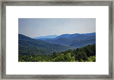 Summer In The Smokies Framed Print by Cricket Hackmann