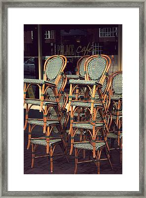 Summer Is At A Close Framed Print by Kenneth Feliciano