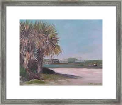 Summer Island Framed Print