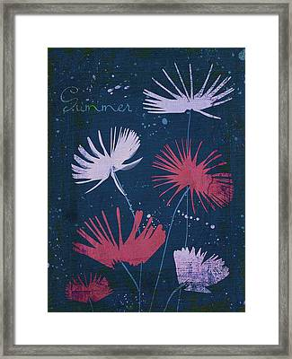 Summer Joy - 47a01 Framed Print