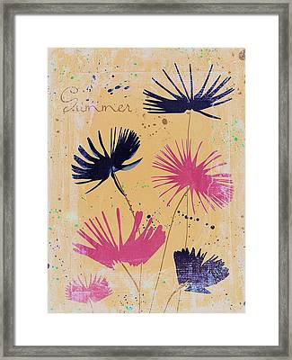 Summer Joy - 55dbb Framed Print by Variance Collections