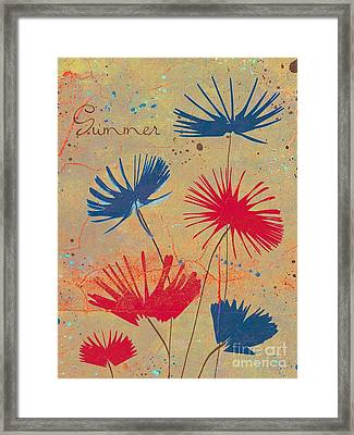 Summer Joy - Jy04bb Framed Print by Variance Collections