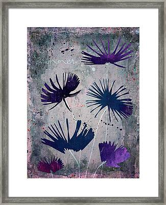 Summer Joy - S25b Framed Print by Variance Collections