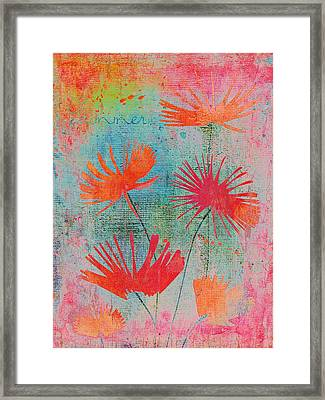 Summer Joy - S44a Framed Print by Variance Collections