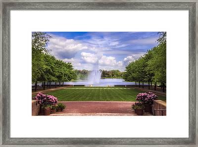 Summer Landscape Framed Print by Julie Palencia