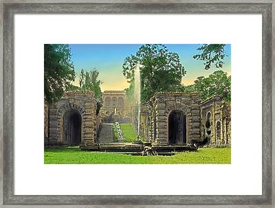 Summer Lawn Framed Print by Terry Reynoldson