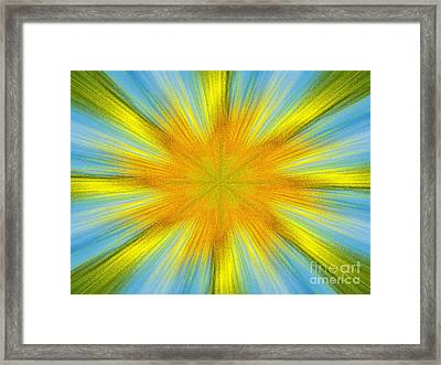 Summer Framed Print by Lorraine Heath