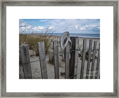 Summer Lost Framed Print