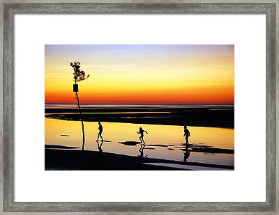 Framed Print featuring the photograph Summer Memories by James Kirkikis