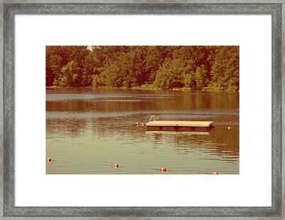 Summer Memories Framed Print