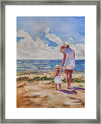 Summer Memories Framed Print by Patricia Pushaw