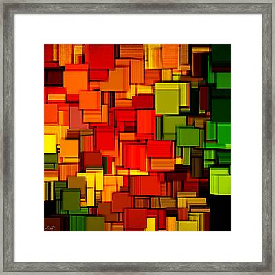 Summer Modern Abstract Art Xviii Framed Print by Lourry Legarde