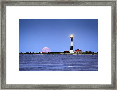 Summer Moon Framed Print by Mike Lang