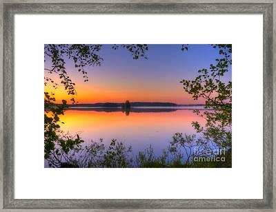 Summer Morning At 02.05 Framed Print
